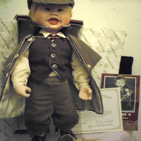 Little Sherlock Porcelain Doll