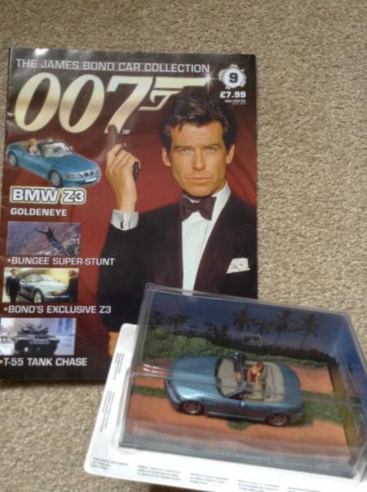 james bond 007 car collection magazine and bmw z3 car. Black Bedroom Furniture Sets. Home Design Ideas